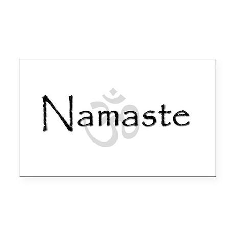 Namaste Rectangle Car Magnet