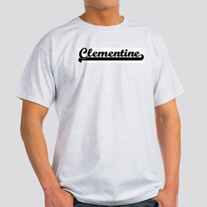 Black jersey: Clementine Ash Grey T-Shirt