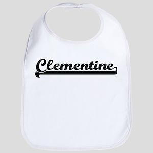 Black jersey: Clementine Bib
