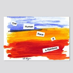 Human Race Is A Rainbow Postcards (Package of 8)