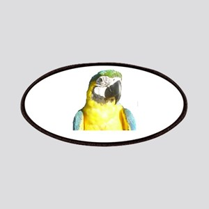 I Love My Macaw Patches