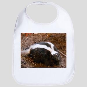 Friendly Little Skunk Bib