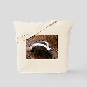 Friendly Little Skunk Tote Bag