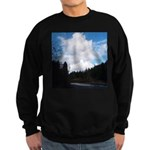 Eel River with Clouds Sweatshirt (dark)