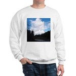 Eel River with Clouds Sweatshirt