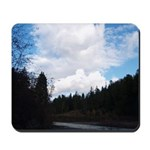 Eel River with Clouds Mousepad