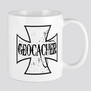 Geocacher Iron Cross Mug
