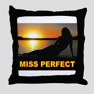 MISTER PERFECT Throw Pillow