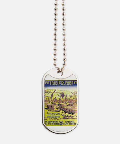 Petrified Forest Dog Tags