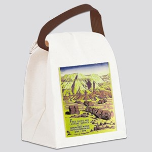 Petrified Forest Canvas Lunch Bag