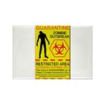 Zombie Outbreak Rectangle Magnet (100 pack)