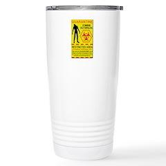 Zombie Outbreak Stainless Steel Travel Mug