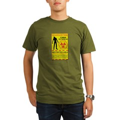Zombie Outbreak Organic Men's T-Shirt (dark)