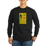 Zombie Outbreak Long Sleeve Dark T-Shirt