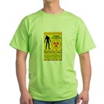 Zombie Outbreak Green T-Shirt