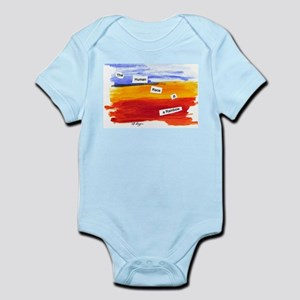 Human Race Is A Rainbow Infant Bodysuit