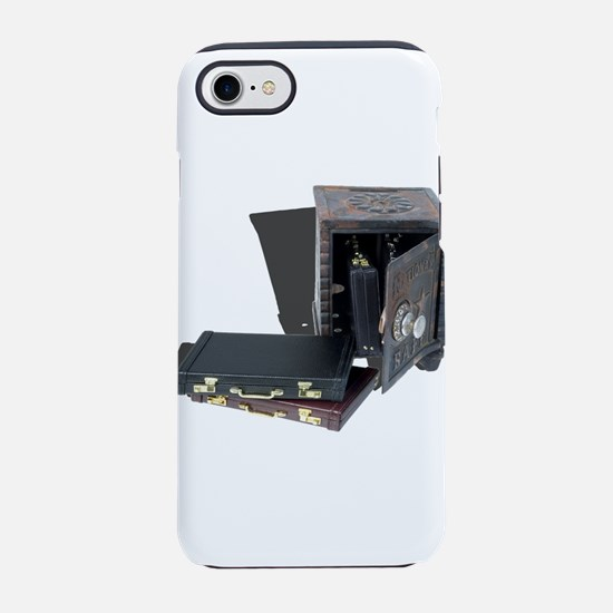 Briefcases in a safe iPhone 7 Tough Case