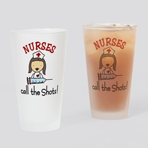 Call The Shots Drinking Glass