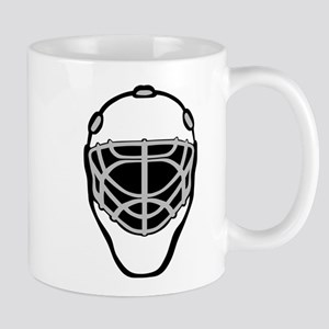White Goalie Mask Mug
