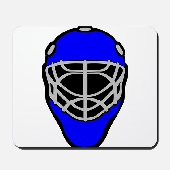 Blue Goalie Mask Mousepad