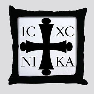 ICXC NIKA Throw Pillow