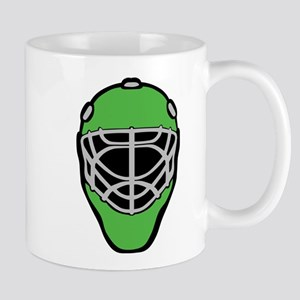 Green Goalie Mask Mug