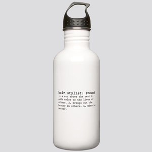 hair stylist definition Stainless Water Bottle 1.0