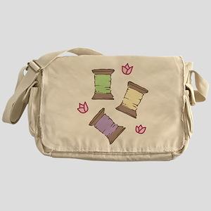 Thread Messenger Bag