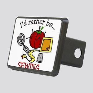 Rather Be Sewing Rectangular Hitch Cover