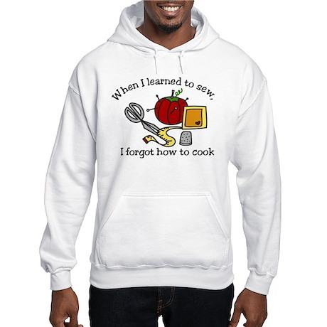 When I Learned Hooded Sweatshirt