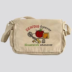 Sewing Forever Messenger Bag