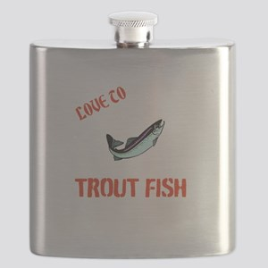 Trout fishing Flask