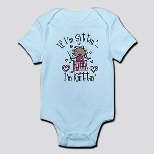 I'm Knittin' Infant Bodysuit
