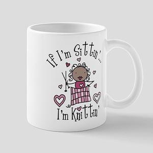 I'm Knittin' Mug