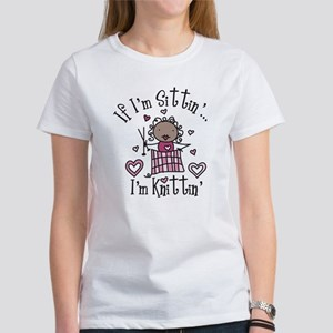 I'm Knittin' Women's T-Shirt