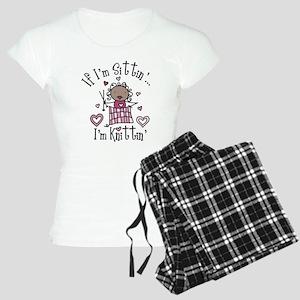 I'm Knittin' Women's Light Pajamas
