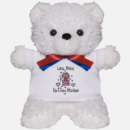 Knitting Machine Teddy Bear
