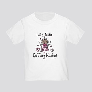 Knitting Machine Toddler T-Shirt