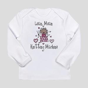 Knitting Machine Long Sleeve Infant T-Shirt