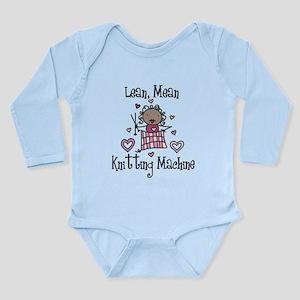 Knitting Machine Long Sleeve Infant Bodysuit