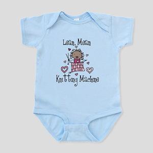 Knitting Machine Infant Bodysuit