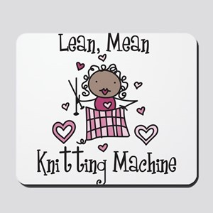 Knitting Machine Mousepad
