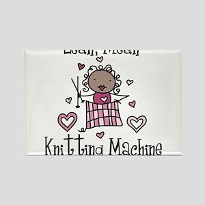Knitting Machine Rectangle Magnet