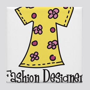 Fashion Designer Tile Coaster