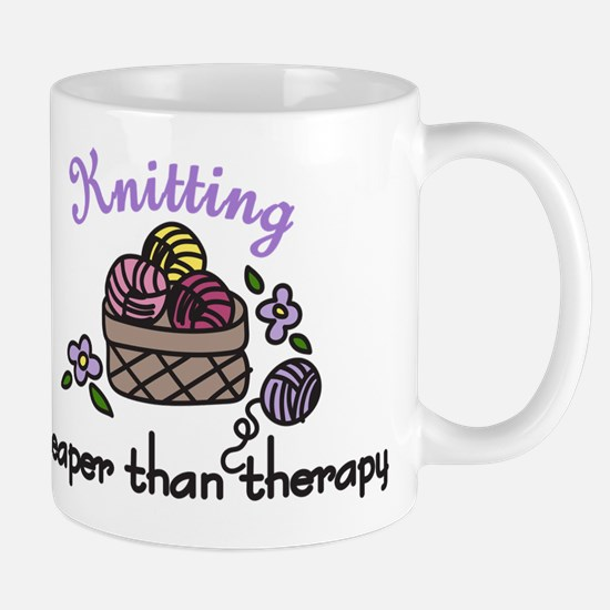 Cheaper Than Therapy Mug