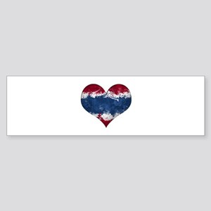 Thailand heart Sticker (Bumper)