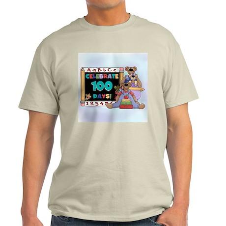 Bears 100 Days of School Light T-Shirt