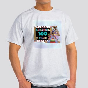 Bears 100 Days of School Light T-Shirt