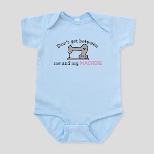 Don't Get Between Infant Bodysuit
