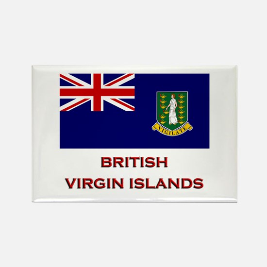 The British Virgin Islands Flag Merchandise Rectan